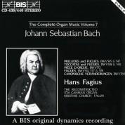 Hans Fagius: J.S. Bach: Complete Organ Music, Vol.7 - CD