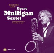 Gerry Mulligan: Legends Live - Liederhalle Stuttgart, 1977 (remastered) - Plak