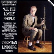 Christian Lindberg: All the Lonely People - CD