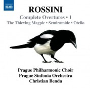 Christian Benda: Rossini: Complete Overtures, Vol. 1 - CD