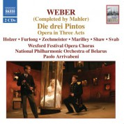 Weber / Mahler: Drei Pintos (Die) - CD
