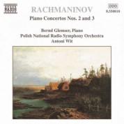 Bernd Glemser: Rachmaninov: Piano Concertos Nos. 2 & 3 - CD