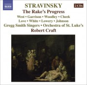 Robert Craft: Stravinsky, I.: Rake's Progress (The) [Opera] - CD