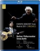Cañizares, Berliner Philharmoniker, Sir Simon Rattle: Europakonzert from Madrid - BluRay