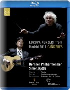 Cañizares, Berliner Philharmoniker, Simon Rattle: Europakonzert from Madrid - BluRay