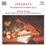 Telemann: 6 Sonatas for Two Flutes Without Bass - CD