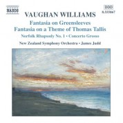 Vaughan Williams: Fantasias / Norfolk Rhapsody / In the Fen Country / Concerto Grosso - CD