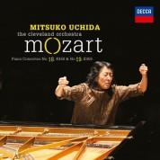 Mitsuko Uchida, The Cleveland Orchestra: Mozart: Piano Concertos No.18 & 19 - CD