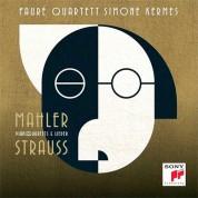 Faure Quartet, Simone Kermes: Mahler, Strauss: Piano Quartets, Lieder - CD