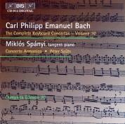 Miklós Spányi, Concerto Armonico, Péter Szűts: C.P.E. Bach: Keyboard Concertos, Vol. 10 - CD