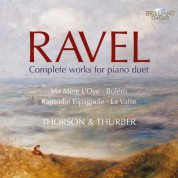Ingryd Thorson, Julian Thurber: Ravel: Complete Works for Piano Duet - CD