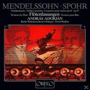 Radio-Sinfonieorchester Stuttgart, David Shallon, Andras Adorjan: Mendelssohn, Spohr: Violin Concerto, Vers. Flute - Plak