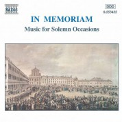 In Memoriam - Music for Solemn Occasions - CD