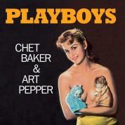 Chet Baker, Art Pepper: Playboys + 1 Bonus Track! Limited Edition In Solid Orange Colored Vinyl. - Plak