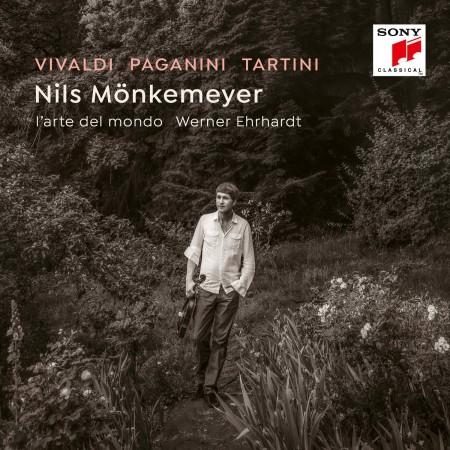 Nils Mönkemeyer: Vivaldi, Paganini, Tartini - CD