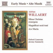 Willaert: Missa Christus Resurgens / Magnificat / Ave Maria - CD