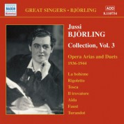 Bjorling, Jussi: Bjorling Collection, Vol. 3: Opera Arias and Duets (1936-1944) - CD