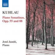 Jeno Jando: Kuhlau: Piano Sonatinas, Opp. 55, 88 - CD
