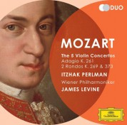 James Levine, Itzhak Perlman, Wiener Philharmoniker: Mozart: The 5 Violin Concertos - CD