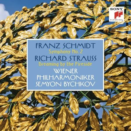Wiener Philharmoniker, Semyon Bychkov: Schmidt: Symphony No. 2 - Strauss: Dreaming by the Fireside - CD
