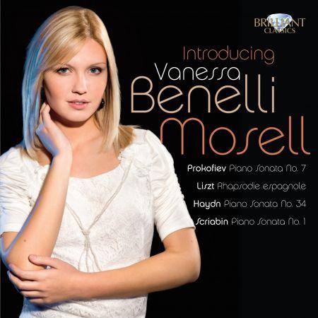 Vanessa Benelli-Mosell: Mosell: Virtuoso Piano Music - CD