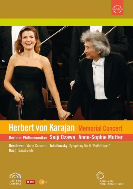 Anne-Sophie Mutter, Berliner Philharmoniker, Seiji Ozawa: Karajan Memorial Concert - DVD