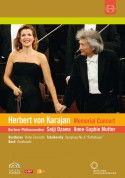 Anne-Sophie Mutter, Berliner Philharmoniker, Seiji Ozawa: Karajan Memorial Concert - DVD