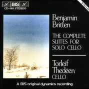 Torleif Thedéen: Britten: The Complete Suites for Solo Cello - CD