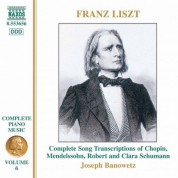 Joseph Banowetz: Liszt: Song Transcriptions - CD