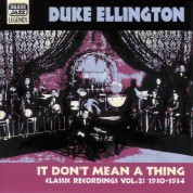 Duke Ellington: Ellington, Duke: It Don'T Mean A Thing (1930-1934) - CD