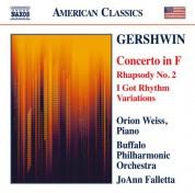 JoAnn Falletta, Orion Weiss: Gershwin: Piano Concerto - Second Rhapsody - I Got Rhythm Variations - CD