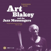 Art Blakey: Legends Live - Sängerhalle Untertürkheim (remastered) - Plak