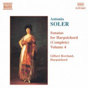 Soler, A.: Sonatas for Harpsichord, Vol.  4 - CD