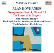 Hovhaness: Symphonies Nos. 4, 20 and 53 - CD