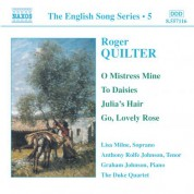 Quilter: Songs (English Song, Vol. 5) - CD