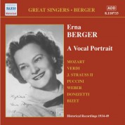 Berger, Erna:  A Vocal Portrait (1934-1949) - CD