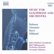 Music for Saxophone and Orchestra - CD