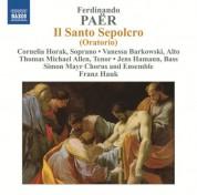 Paër: Il Santo Sepolcro - CD