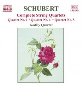 Schubert: String Quartets (Complete), Vol. 4 - CD