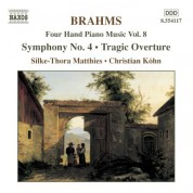 Christian Kohn, Silke-Thora Matthies: Brahms: Four-Hand Piano Music, Vol.  8 - CD