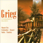 Alexander Vinnitsky, Vladimir Ovchinnikov, Alexander Rudin, Moscow Trio, Çeşitli Sanatçılar: Grieg: Chamber Music - CD