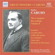 Caruso, Enrico: Complete Recordings, Vol.  8 (1913-1914) - CD