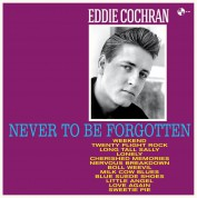 Eddie Cochran: Never to be forgotten - Plak
