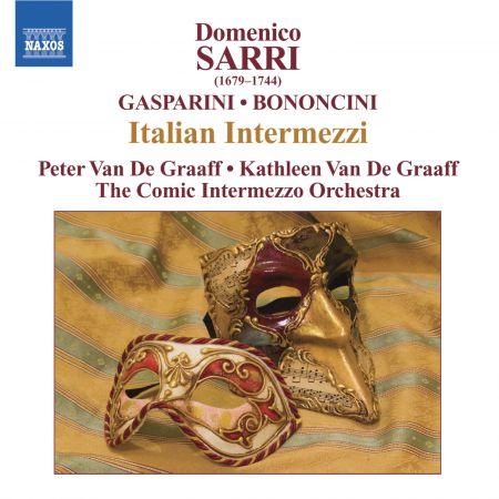 Kathleen Van de Graaff: Sarri / Gasparini / Bononcini: Italian Intermezzi - CD