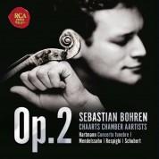 Sebastian Bohren: Hartmann, Mendelssohn, Respighi, Schubert - CD