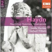 Sir Neville Marriner, Gerhard Wilhelm, Staatskapelle Dresden: Haydn: Missa Cellensis, Paukenmesse, Schöpfungsmesse - CD