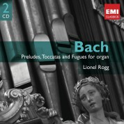 Lionel Rogg: J.S. Bach: Preludes, Toccatas and Fugues for Organ - CD