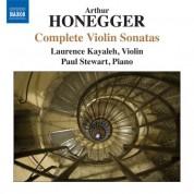 Laurence Kayaleh: Honegger: Complete Violin Sonatas - CD