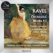 Leonard Slatkin: Ravel: Orchestral Works, Vol. 1 - CD