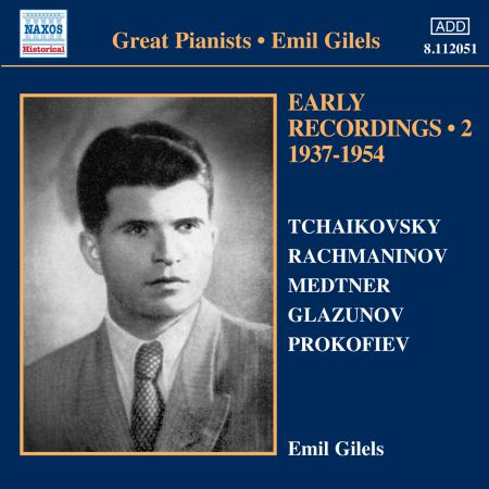 Emil Gilels: Early Recordings, Vol. 2 (1937-1954) - CD